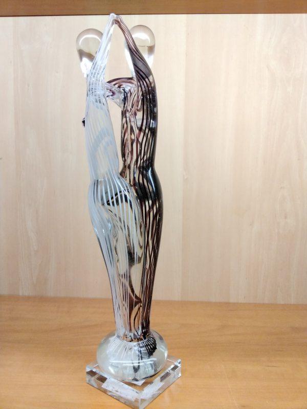 Glas sculptuur Dans - Prana Puur | Cadeau winkel Roden