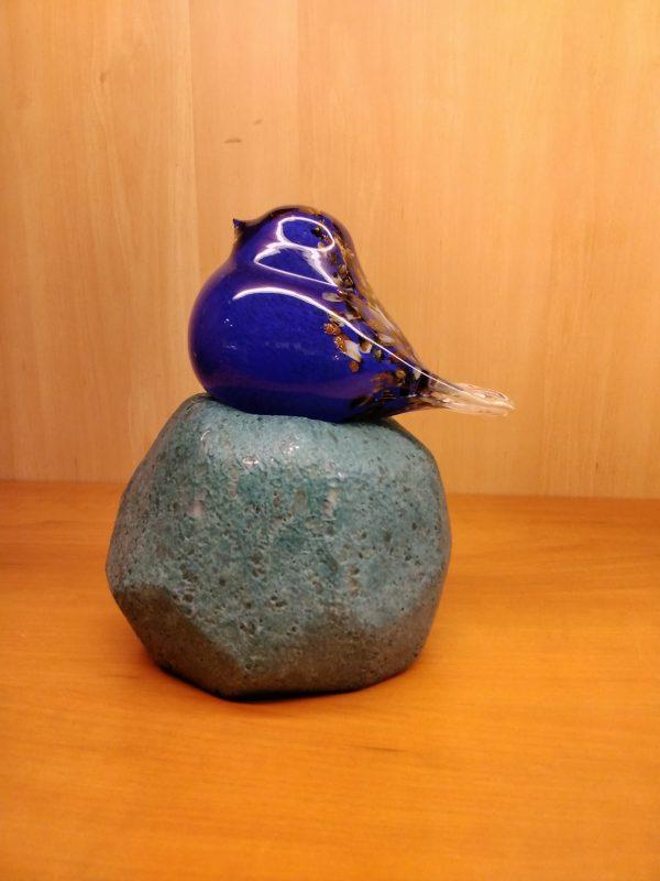 Glazen vogeltje - Prana Puur   Cadeau winkel Roden