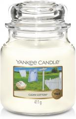 Yankee Candle Clean Cotton - Prana Puur | Cadeau winkel Roden
