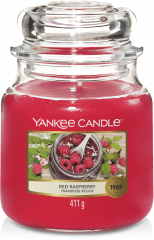 Yankee Candle Red Raspberry - Prana Puur | Cadeau winkel Roden