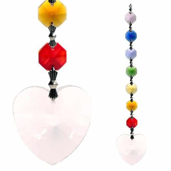 Feng Shui chakrakristal onvoorwaardelijke Liefde - Prana Puur | Cadeau winkel Roden