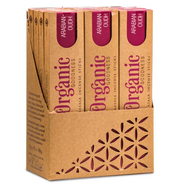 Masala Wierook Arabische Oudh - Prana Puur | Cadeau winkel Roden