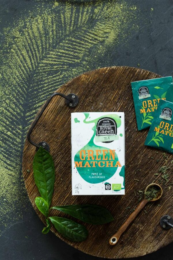 ROYAL GREEN GREEN MATCHA BIO - Prana Puur | Cadeau winkel Roden