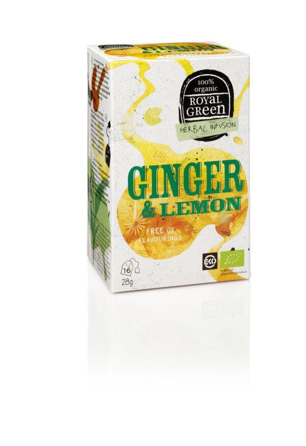 ROYAL GREEN GINGER & LEMON BIO - Prana Puur | Cadeau winkel Roden