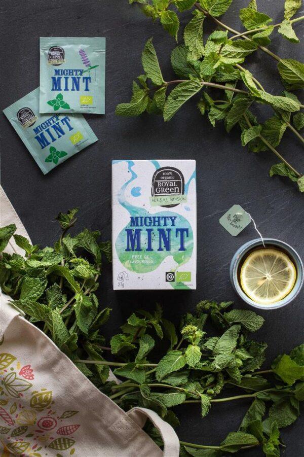 ROYAL GREEN MIGHTY MINT BIO - Prana Puur | Cadeau winkel Roden