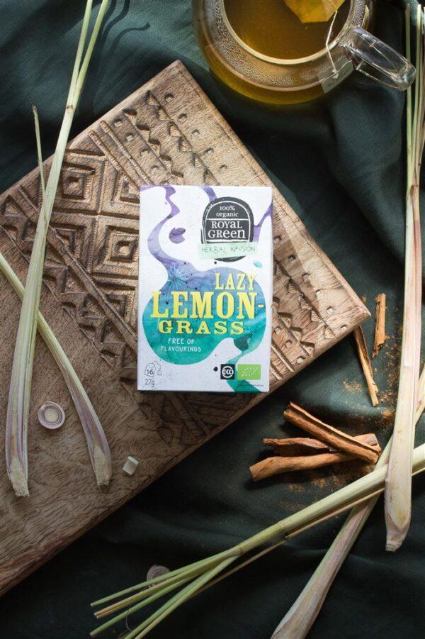 ROYAL GREEN LAZY LEMONGRASS BIO - Prana Puur   Cadeau winkel Roden