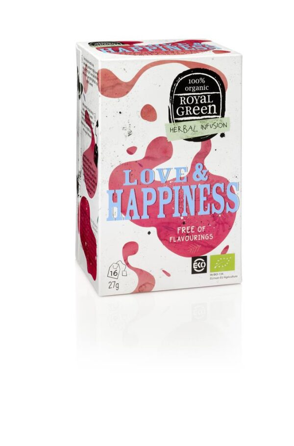 ROYAL GREEN LOVE & HAPPINESS BIO - Prana Puur | Cadeau winkel Roden