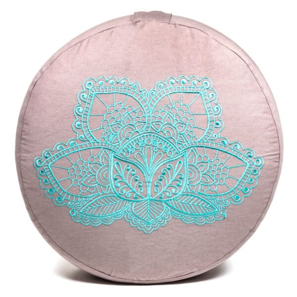 Meditatiekussen lotus bio katoen - Prana Puur | Cadeau winkel Roden