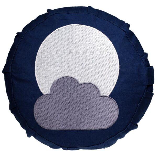 Meditatiekussen maan voor kinderen - Prana Puur | Cadeau winkel Roden
