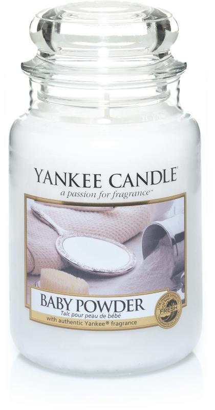 Yankee Candle Baby Powder - Prana Puur | Cadeau winkel Roden
