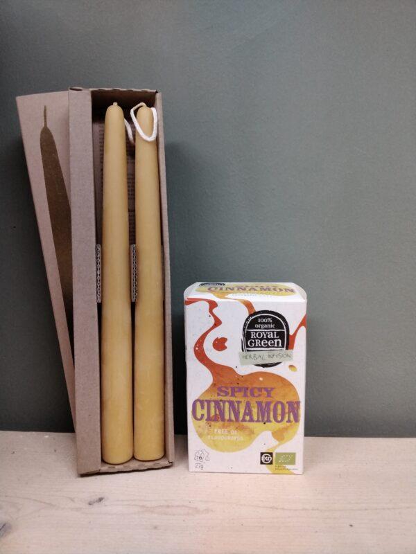 Pakket Bijenwaskaars Biologische Thee - Prana Puur | Cadeau winkel Roden