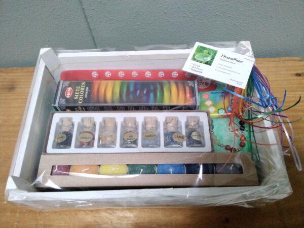 Chakra pakket - Prana Puur | Cadeau winkel Roden