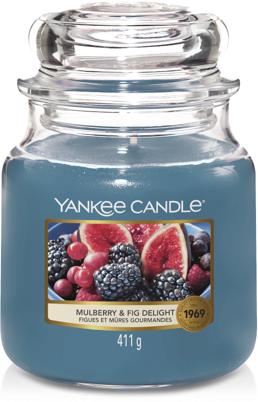 Yankee Candle Mulberry & Fig Delight - Prana Puur | Cadeau winkel Roden