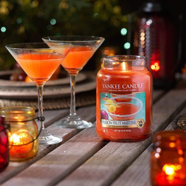 Yankee Candle Passion Fruit Martini - Prana Puur   Cadeau winkel Roden