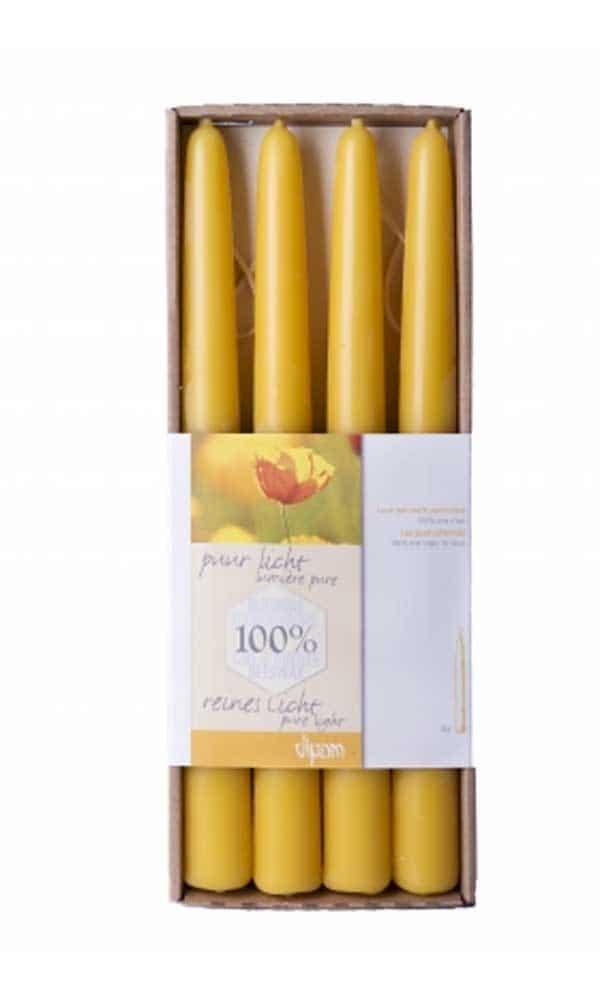Bijenwaskaarsen honing - Prana Puur   Cadeau winkel Roden