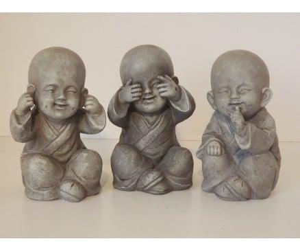 Horen zien zwijgen monnik - Prana Puur   Cadeau winkel Roden