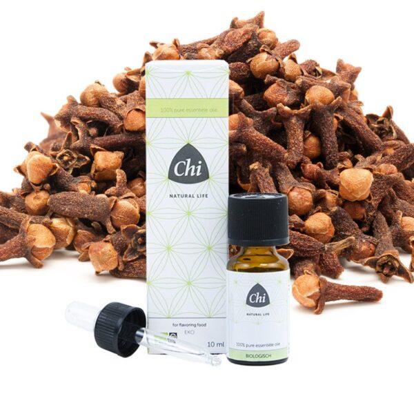 Kruidnagel, nagel etherische olie, biologisch - Prana Puur | Cadeau winkel Roden