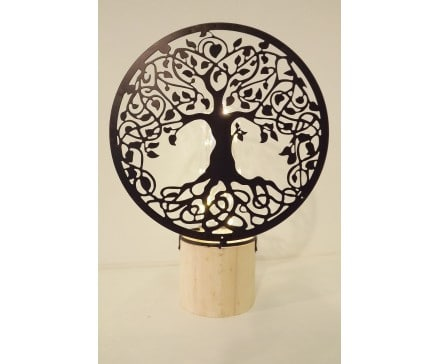 Tree of Life led lamp - Prana Puur | Cadeau winkel Roden