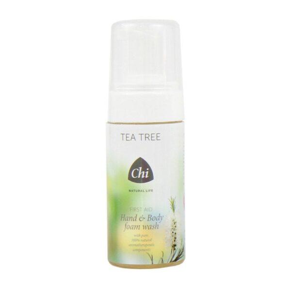 Tea Tree Hand & Body Foam Wash - Prana Puur | Cadeau winkel Roden