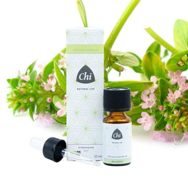 Tijm, linalol etherische olie, biologisch - Prana Puur | Cadeau winkel Roden