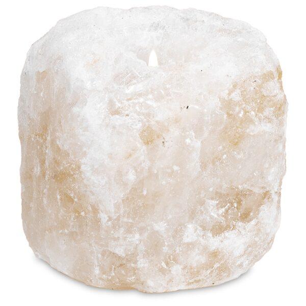 Zoutkristal Sfeerlicht - Prana Puur | Cadeau winkel Roden