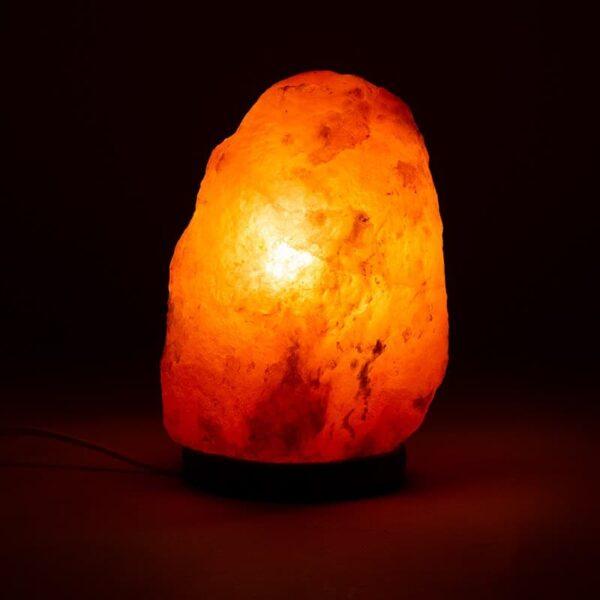 Zoutkristallamp Klein - Prana Puur | Cadeau winkel Roden