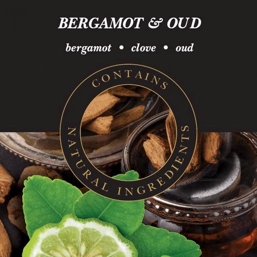 Geurlamp vloeistof Bergamot Oud - Prana Puur | Cadeau winkel Roden