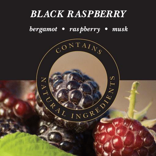 Geurlamp vloeistof Black Raspberry - Prana Puur   Cadeau winkel Roden