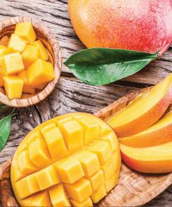 Geurlamp vloeistof Mango Nectarine - Prana Puur | Cadeau winkel Roden