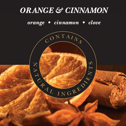 Geurlamp vloeistof Orange Cinnamon - Prana Puur | Cadeau winkel Roden