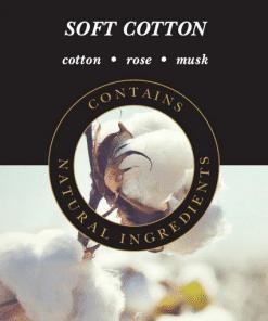 Geurlamp vloeistof Soft Cotton - Prana Puur | Cadeau winkel Roden