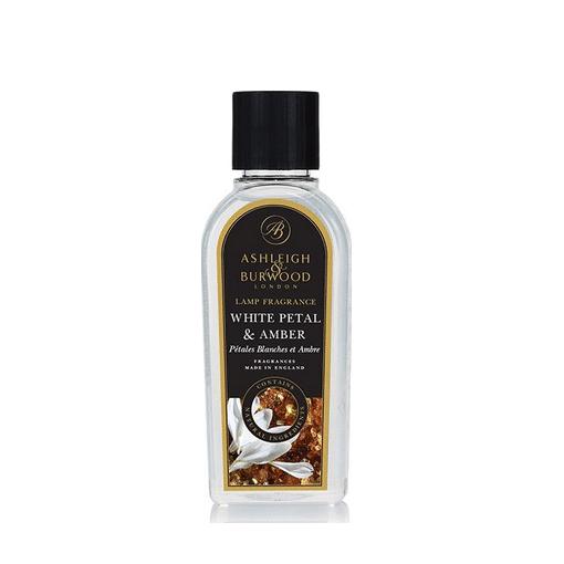Geurlamp vloeistof White Petal Amber - Prana Puur | Cadeau winkel Roden