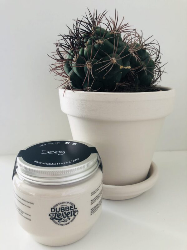 Dubbelleven krijtverf DEEG - Prana Puur | Cadeau winkel Roden