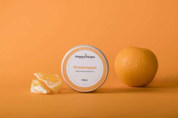 Happy Soaps Natuurlijke Deodorant - Prana Puur | Cadeau winkel Roden