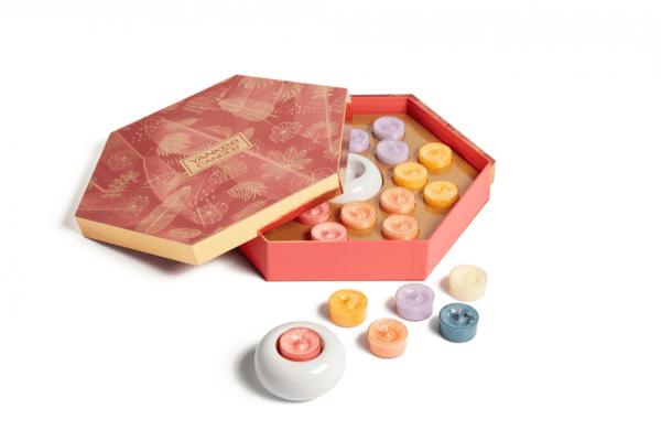 Yankee candle giftset Last Paradise - Prana Puur | Cadeau winkel Roden