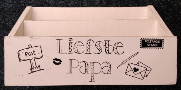 Postbak Liefste Papa - Prana Puur   Cadeau winkel Roden