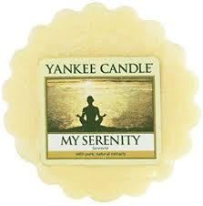 Yankee Canlde My serenity wax