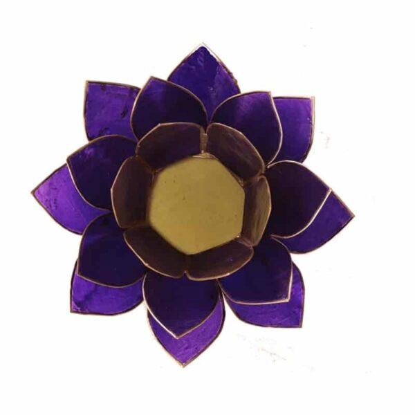 Lotus sfeerlicht Violet   7e Chakra - Prana Puur   Cadeau winkel Roden