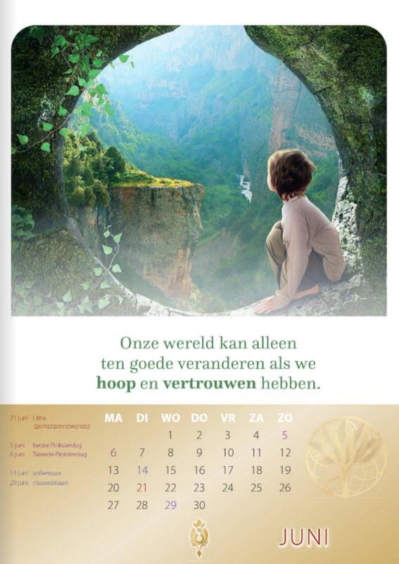 Kalender 2022 | Christina von Dreien - Prana Puur | Cadeau winkel Roden