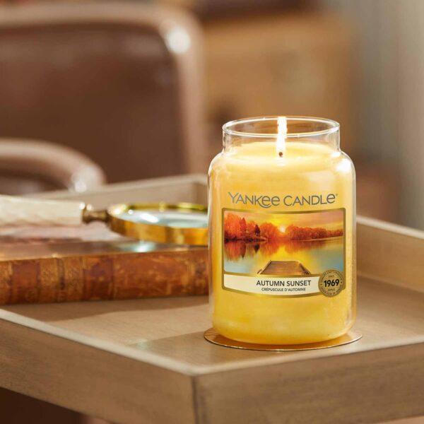 Yankee Candle Autumn Sunset - Prana Puur | Cadeau winkel Roden